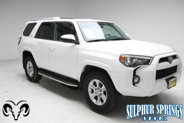 2018 Toyota 4Runner in Sulphur Springs, TX