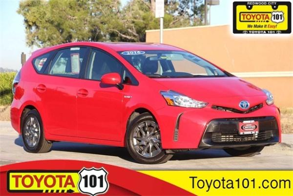 2016 Toyota Prius v in Redwood City, CA