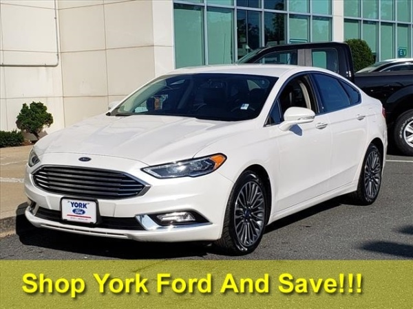 2017 Ford Fusion in Saugus, MA