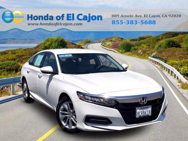 2018 Honda Accord in El Cajon, CA