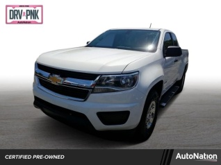 2016 Chevrolet Colorado Wt Extended Cab Standard Box 2wd Manual For In Miami Fl