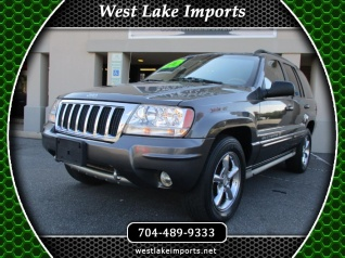 Used 2004 Jeep Grand Cherokee Overland 4WD For Sale In Denver, NC