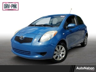 Used 2008 Toyota Yaris 3 Door Liftback Manual For Sale In Pembroke Pines, FL