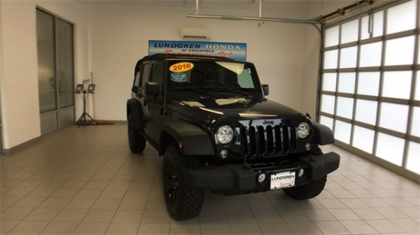 2016 Jeep Wrangler in Greenfield, MA