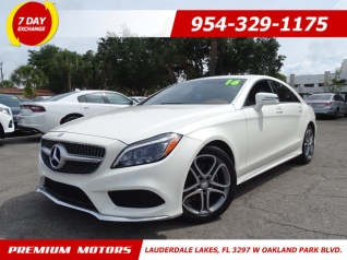 2016 Mercedes Benz Cls 400 Rwd For In Lauderdale Lakes Fl
