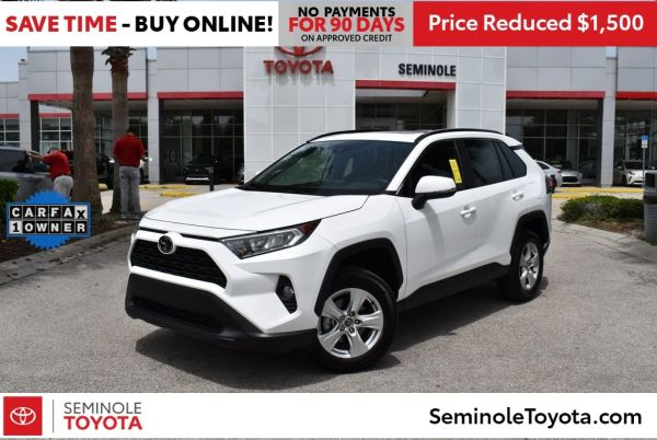 2020 Toyota RAV4 in Sanford, FL