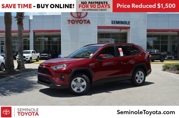 2020 Toyota RAV4 in Sanford, FL