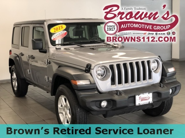 2018 Jeep Wrangler in Patchogue, NY