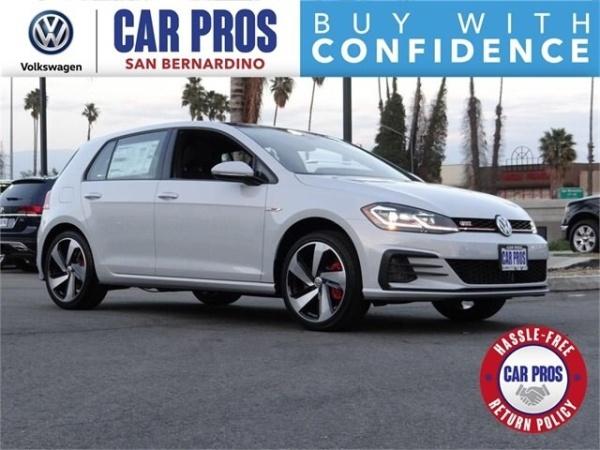 Volkswagen San Bernardino >> 2019 Volkswagen Golf Gti 2 0t Se For Sale In San Bernardino