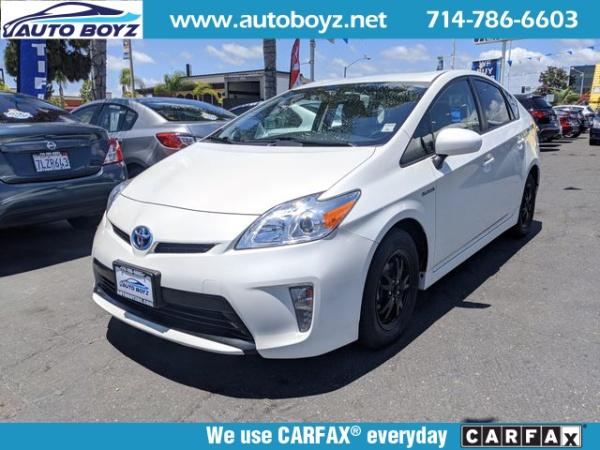 2015 Toyota Prius in Garden Grove, CA
