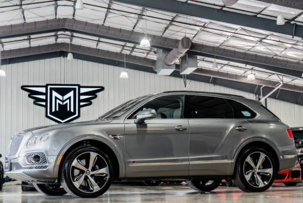 2017 Bentley Bentayga W12 First Edition