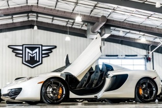 Used 2014 McLaren MP4 12C Spider For Sale In Boerne, TX