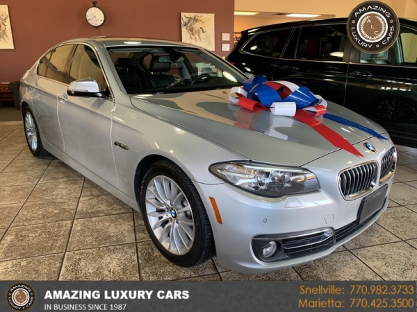 2015 BMW 5 Series in Snellville, GA