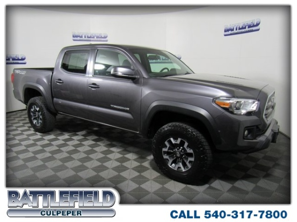 2016 Toyota Tacoma Trd Off Road Double Cab 5 Bed V6 4wd Automatic Culpeper Va 69 201 Miles Save To Favorites In