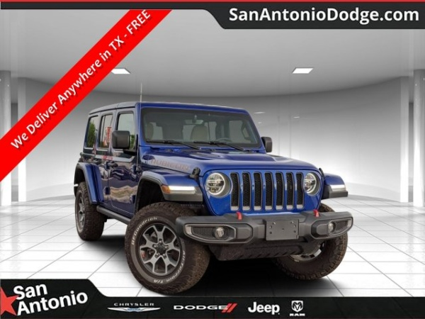 2020 Jeep Wrangler in San Antonio, TX