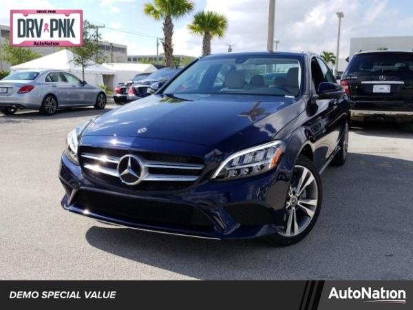 Mercedes Benz Of Miami >> 2019 Mercedes Benz C Class C 300 Sedan 4matic For Sale In