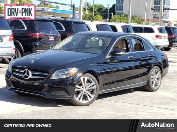 2016 Mercedes-Benz C-Class in Ft. Lauderdale, FL