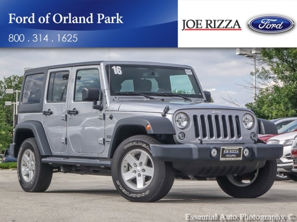 2016 Jeep Wrangler in Orland Park, IL