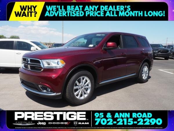Dodge Dealership Las Vegas >> 2020 Dodge Durango Sxt Rwd For Sale In Las Vegas Nv Truecar