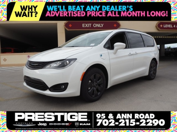 2019 Chrysler Pacifica Hybrid Touring Plus