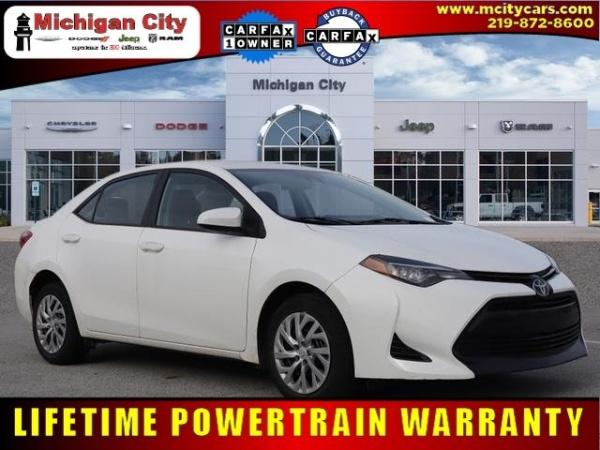 2018 Toyota Corolla in Michigan City, IN