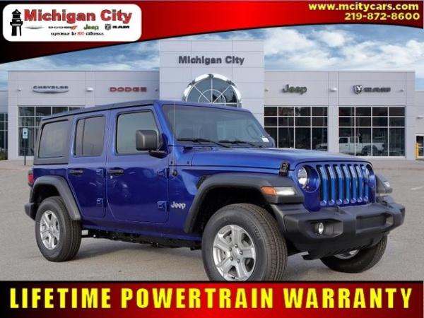 2020 Jeep Wrangler in Michigan City, IN