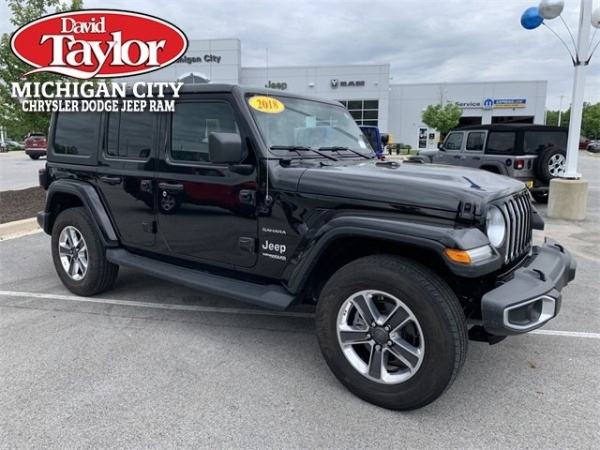 2018 Jeep Wrangler in Michigan City, IN