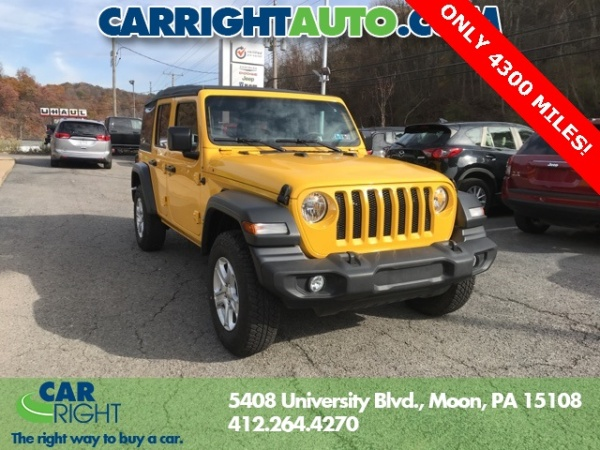 2018 Jeep Wrangler in Moon Township, PA