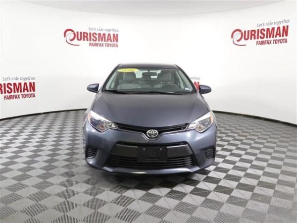 2016 Toyota Corolla in Fairfax, VA