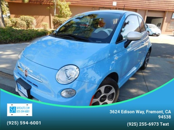 Fiat 500e safety rating 2015