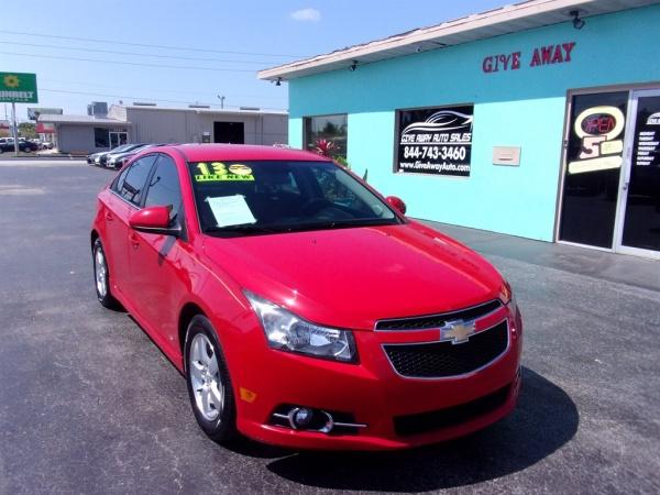 2013 Chevrolet Cruze in Pinellas Park, FL