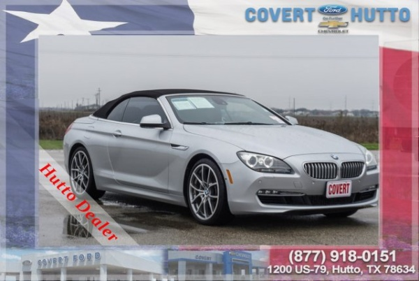 2012 BMW 6 Series in Hutto, TX