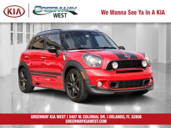 2014 MINI Countryman John Cooper Works ALL4
