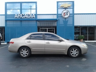 Used 2003 Honda Accord EX V6 With Leather Sedan Automatic For Sale In  Arcadia, FL