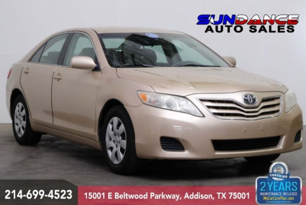 2010 Toyota Camry In Addison Tx