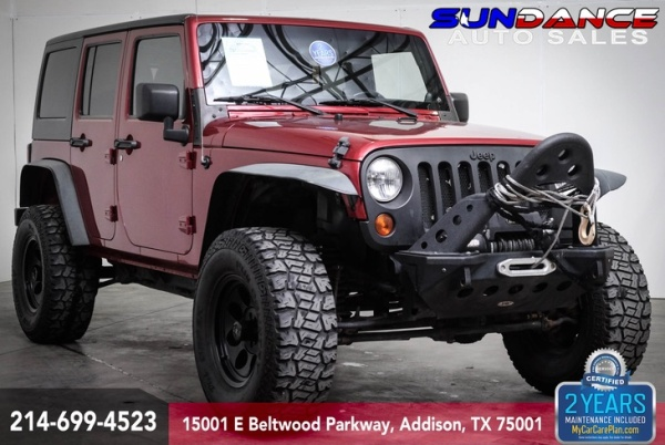 2012 Jeep Wrangler in Addison, TX