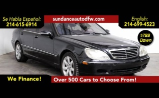 Used 2001 Mercedes Benz S Class For Sale Truecar