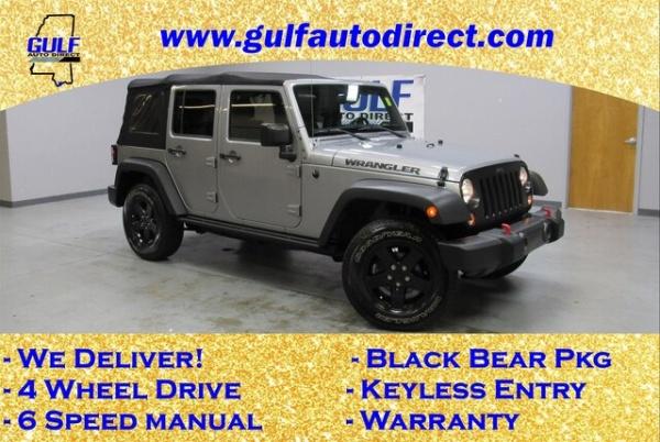 2016 Jeep Wrangler Black Bear