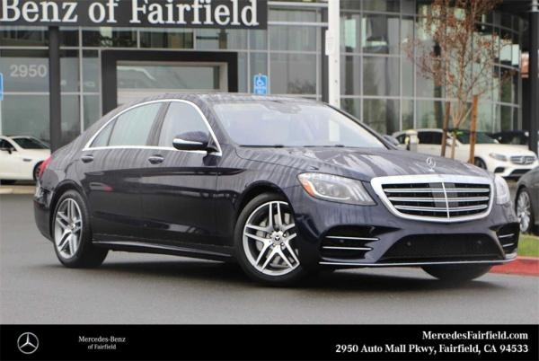 2020 Mercedes-Benz S-Class in Fairfield, CA