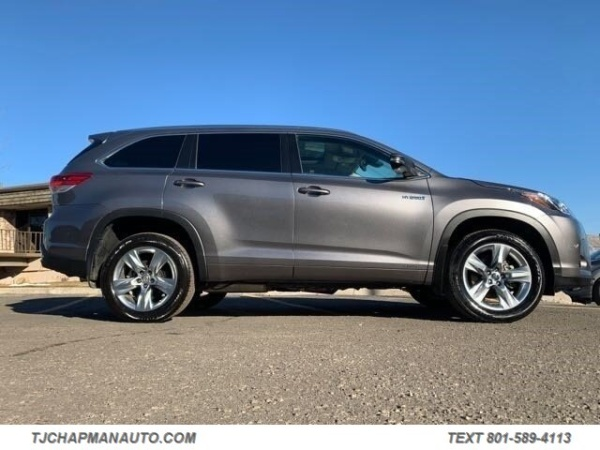 Lake City Toyota >> 2017 Toyota Highlander Hybrid Limited V6 Awd For Sale In Salt Lake