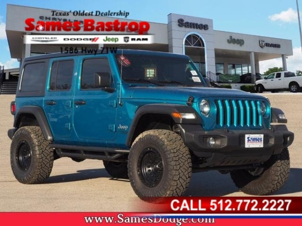 2020 Jeep Wrangler in Cedar Creek, TX