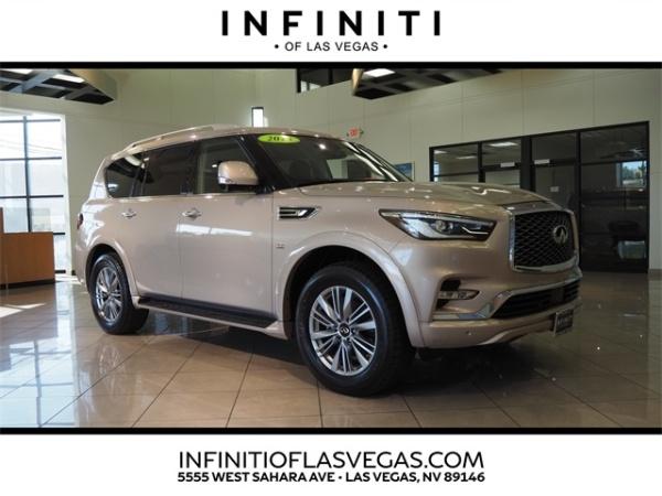 2018 INFINITI QX80 in Las Vegas, NV