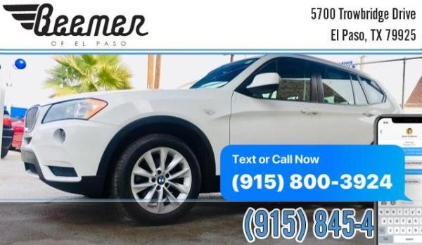 2013 BMW X3 in El Paso, TX