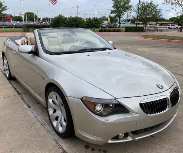 2005 BMW 6 Series 645Ci Convertible For Sale In Austin, TX