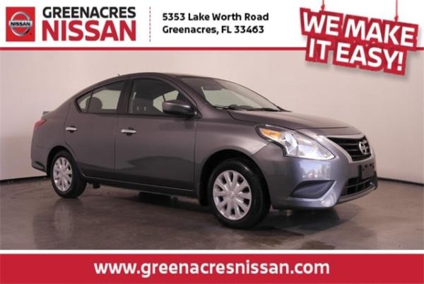 2018 Nissan Versa in Greenacres, FL