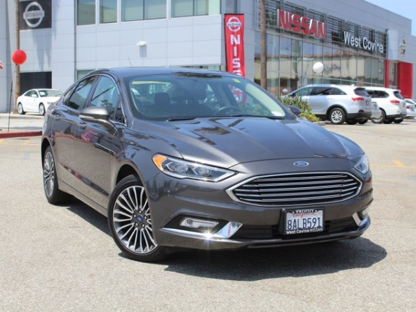 West Covina Ford >> 2018 Ford Fusion Titanium Awd For Sale In West Covina Ca