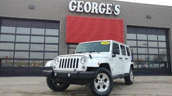 2014 Jeep Wrangler in Brownstown, MI