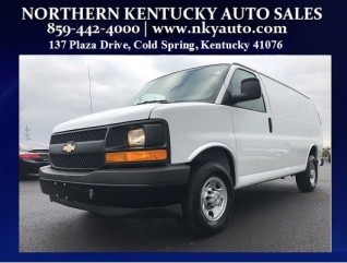 6a4afccb371a41 2017 Chevrolet Express Cargo Van 3500 SWB for Sale in Highland Heights