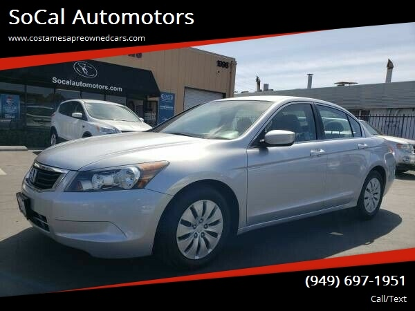 2009 Honda Accord in Costa Mesa, CA