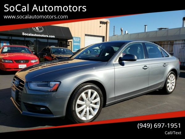 2013 Audi A4 in Costa Mesa, CA